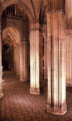 Pcaa catedral de sevilla alzado - Catedral de sevilla interior ...